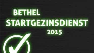 Startgezinsdienst 2015